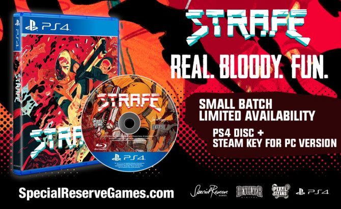 Roguelike FPS Title, Strafe Set to Receive Special Physical Limited Editions; Check Them Out in Full Here