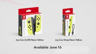 Nintendo Reveals Neon Yellow Joy-Cons, More Switch Docks at Nintendo Direct Presentation