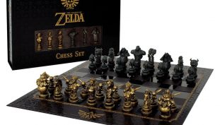 Official Legend of Zelda Chess Set Released