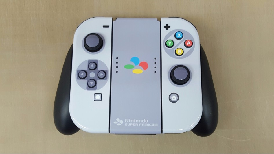 Super Famicom Themed Nintendo Switch is the Epitome of Nostalgia