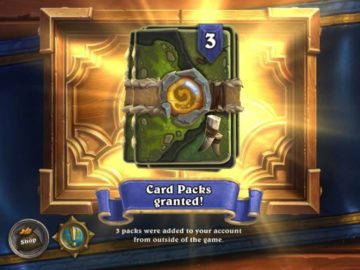 Hearthstone Is Releasing Free Card Packs To Celebrate New Milestones