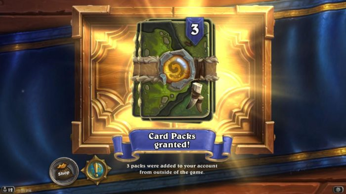 Hearthstone hits 70 million players and dishes out free card packs