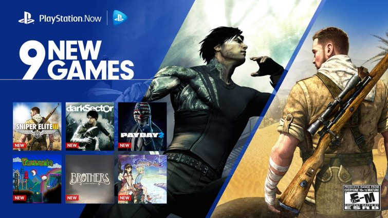 Sony Adds 9 More Titles To PlayStation Now