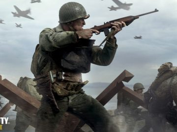 Call of Duty: WWII Dethrones Assassin's Creed: Origins from UK Sales Charts