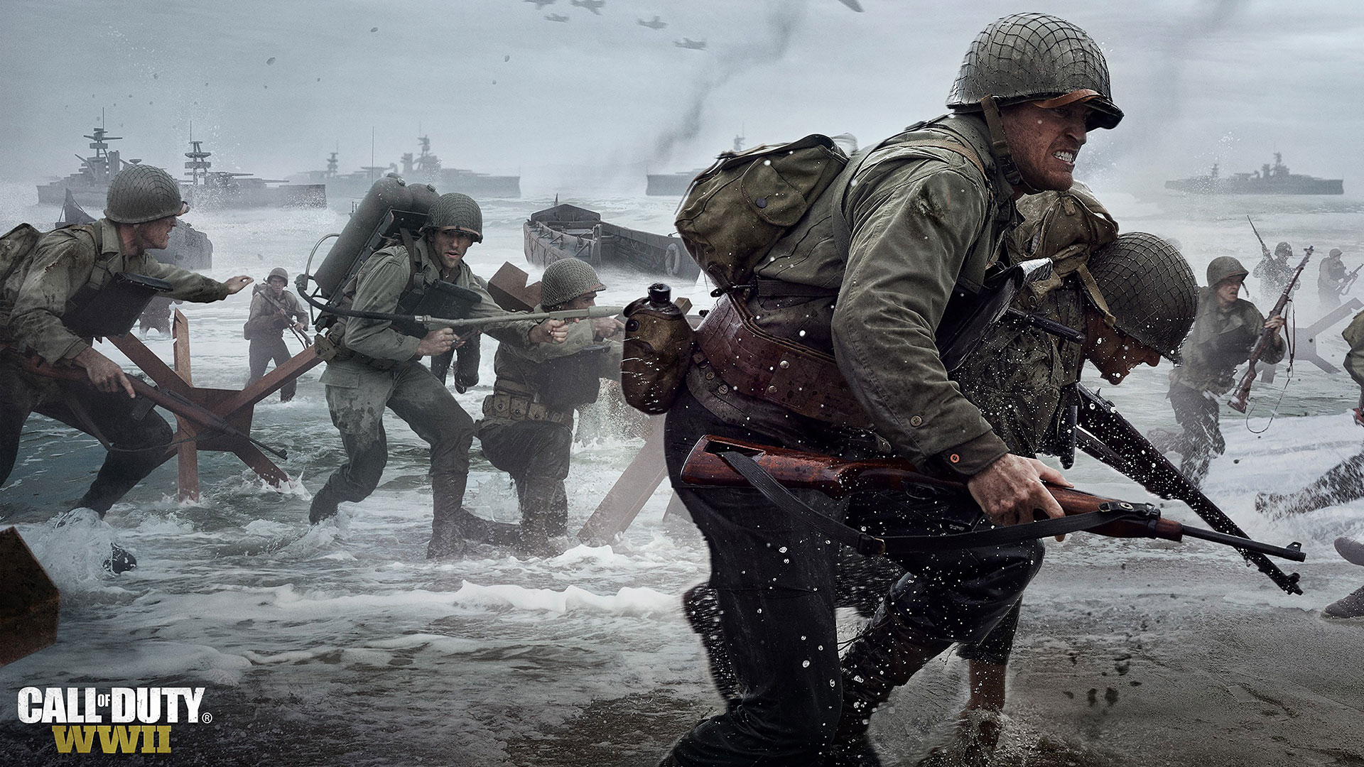 Call of duty wwii wallpapers in ultra hd 4k gameranx - Cod ww2 4k pc ...
