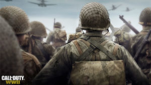 Huge Call of Duty: WWII Poster Plastered Up In Southern California