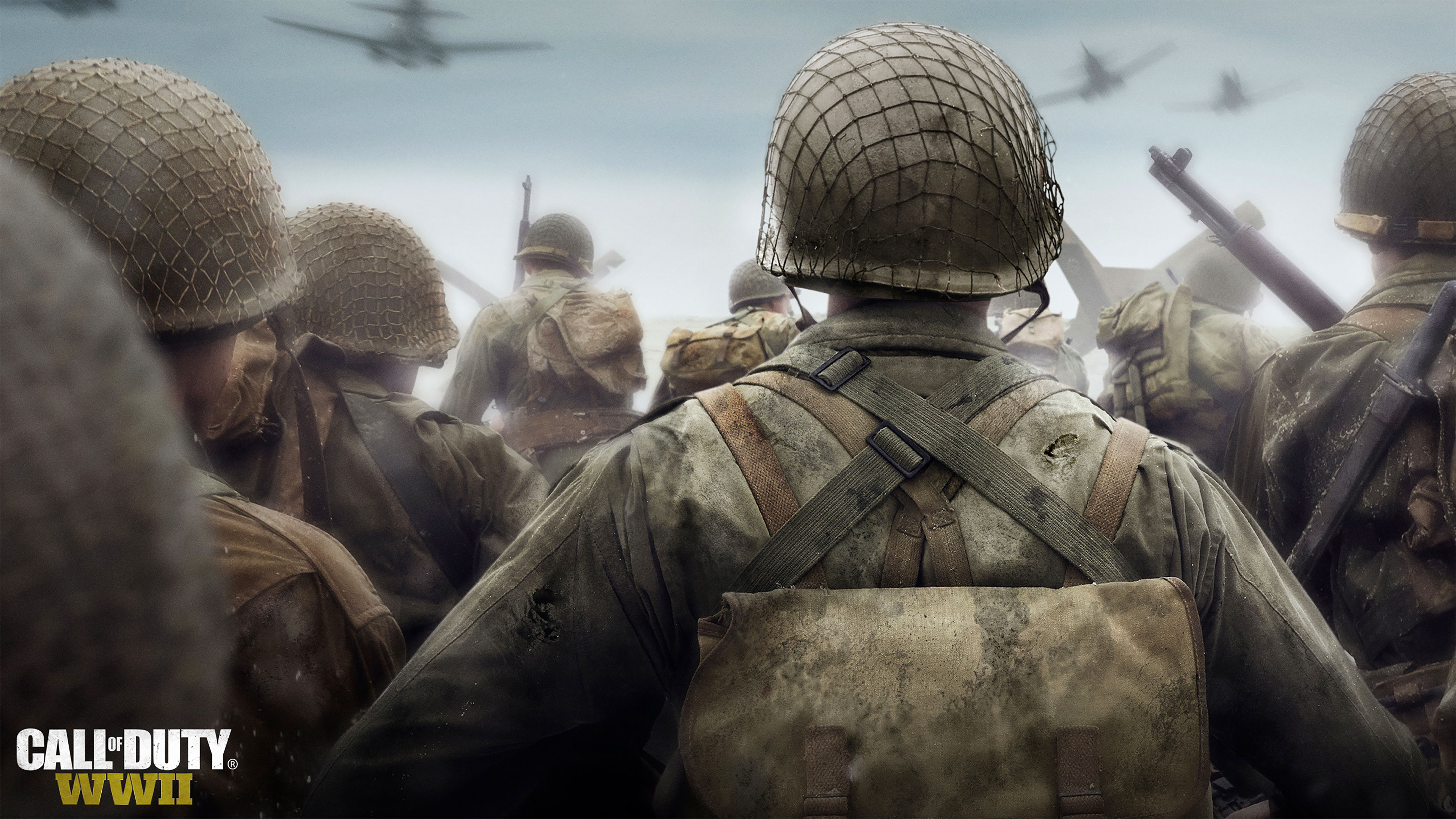 CALL OF DUTY WWII 4K Wallpaper