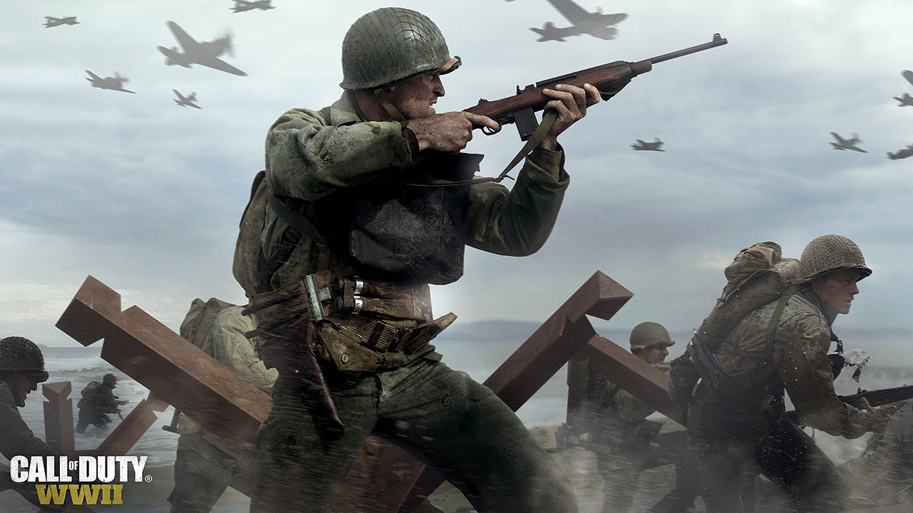 ... CALL OF DUTY WWII 720p Wallpaper
