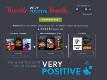 Take A Look At The Very Positive Humble Bundle