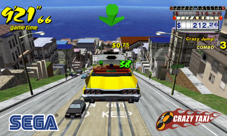 SEGA Announces That Crazy Taxi Classic is Going Free to Play on Mobile Devices Starting Today