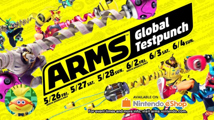 ARMS, Nintendo Direct