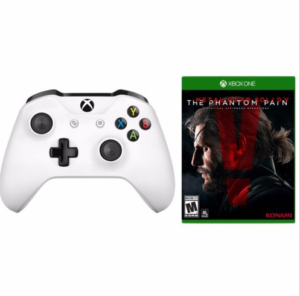 Daily Deal: Xbox One S Controller and MGS V Phantom Pain for Only 39.99$ on eBay
