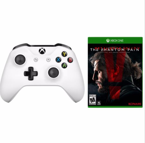Daily Deal Xbox One S Controller And Mgs V Phantom Pain For Only