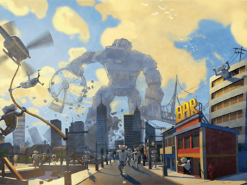 Become a Giant Mecha Warrior & Save the World in VRobot