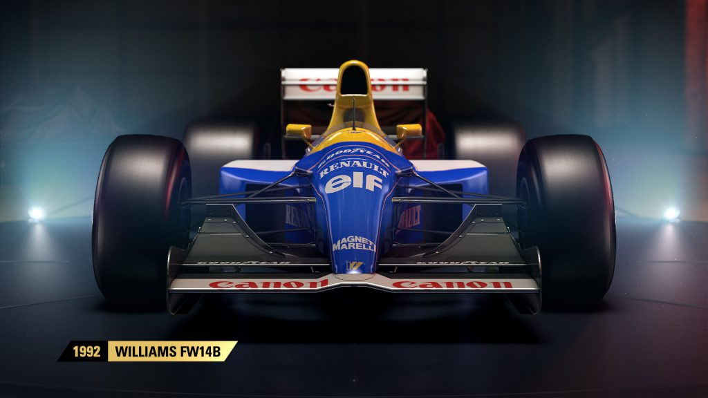 Codemasters Officially Announce F1 2017; Features Classic F1 Cars