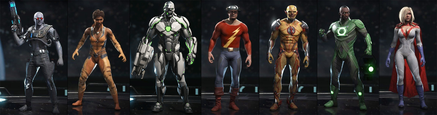 Injustice 2 Unlock Every Premier Skin