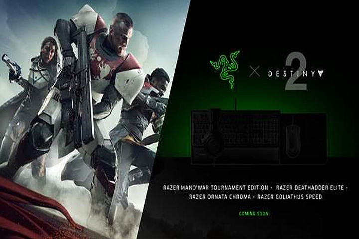 Bungie Teams up With Razer for Destiny 2 Gaming Peripherals