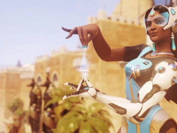 Symmetra of Overwatch To Get A Legendary Skin Pack Soon