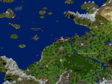 This Gigantic MMO Is Made Entirely On Minecraft