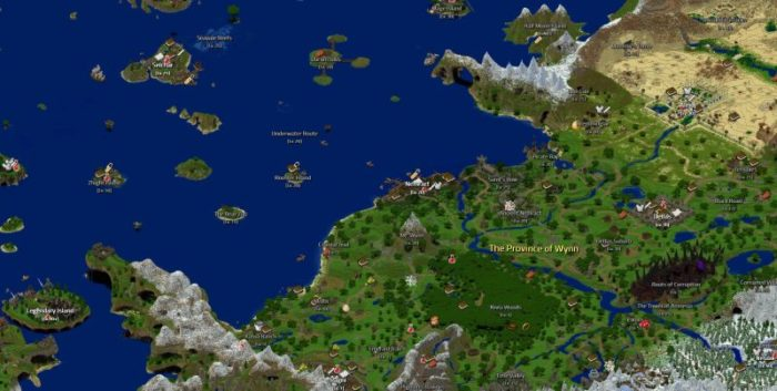 This gigantic mmo is made entirely on minecraft this has got to quite possibly be one of the most ambitious minecraft maps i have ever seen wyncraft is a gigantic mmo set inside minecraft and features gumiabroncs Choice Image