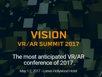 Unity Technologies Launches Vision VR Summit Today