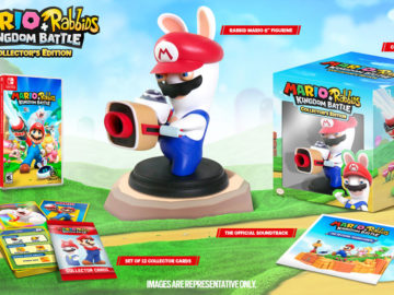 rabbids, mario, collector edition
