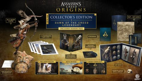 collector, ps4, xbox one, assassin's creed