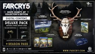 far cry 5, ps4, xbox one, pc, collector edition
