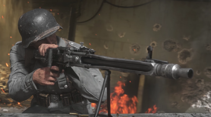 Call of Duty: WWII multiplayer gameplay footage released