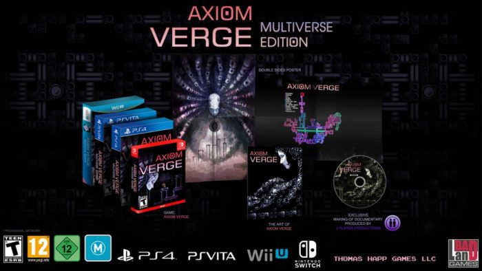 Axiom Verge Getting Physical Release on Switch This August
