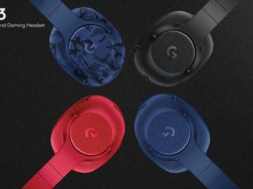 Logitech Unveils Two New Gaming Headsets