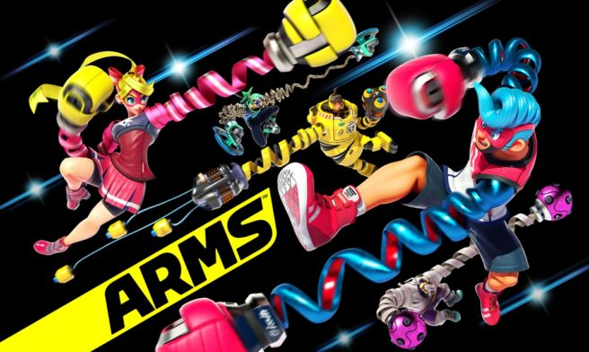 ARMS is Now Available to Purchase on Nintendo Switch; New Accolades Trailer Released