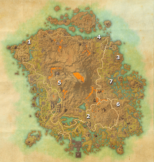 The Elder Scrolls Online: Morrowind All Stones of Cold Fire Locations
