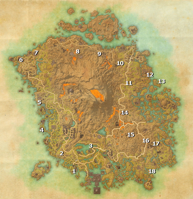 The Elder Scrolls Online: Morrowind Skyshard Locations