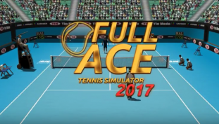 Full Ace Tennis Simulator 2017 Fills Racquet Shaped Void in Our Hearts