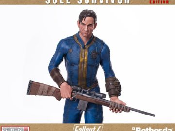 fallout 4, statue, gaming heads
