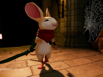 Moss is an Adorable VR Game Starring a Mouse