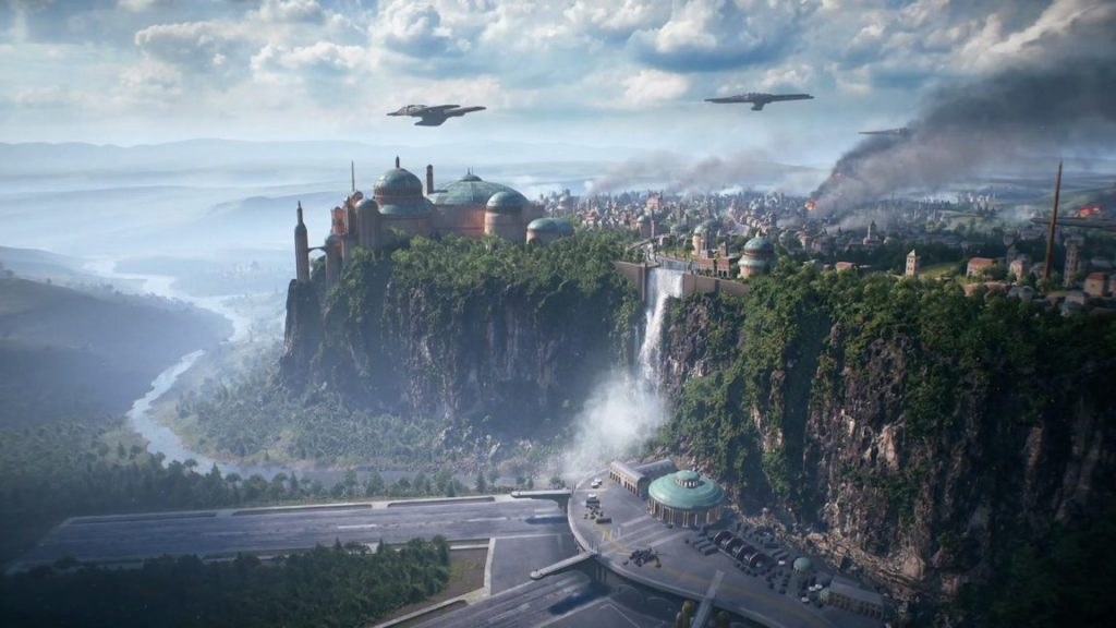 Gamescom 2017: Star Wars Battlefront 2 Space Battles Teased