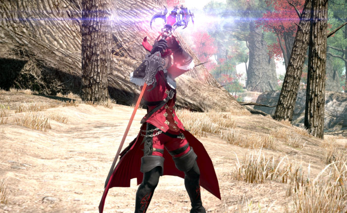Final Fantasy XIV: Stormblood Jobs Red Mage Samurai