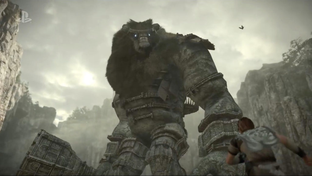 shadow of colossus, ps4, e3 2017