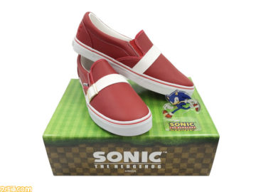 SEGA Celebrates Sonic The Hedgehog 26th Anniversary With Iconic Sneakers