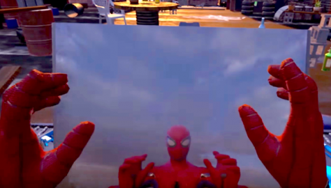 spider-man, vr, new, announced, web