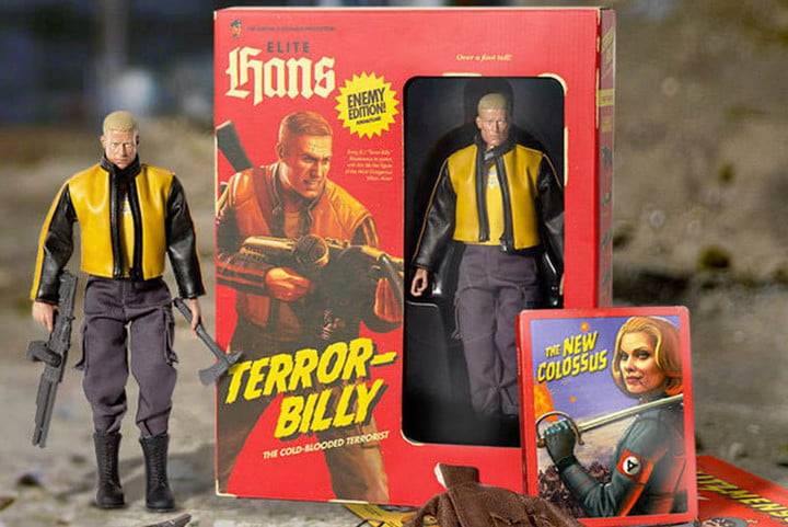 Wolfenstein 2: The New Colossus Collector's Edition Announced and Detailed; Comes with 12 Inch Blazkowicz Figure