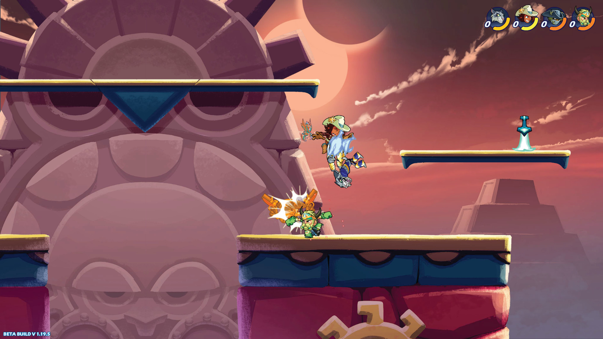 2D Fighter Brawlhalla Will Offer Cross Play to PS4 & PC