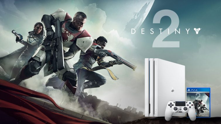 Limited Edition Destiny 2 Glacier White PS4 Pro Bundle Announced; Includes 1TB Console, Season Pass, and Much More