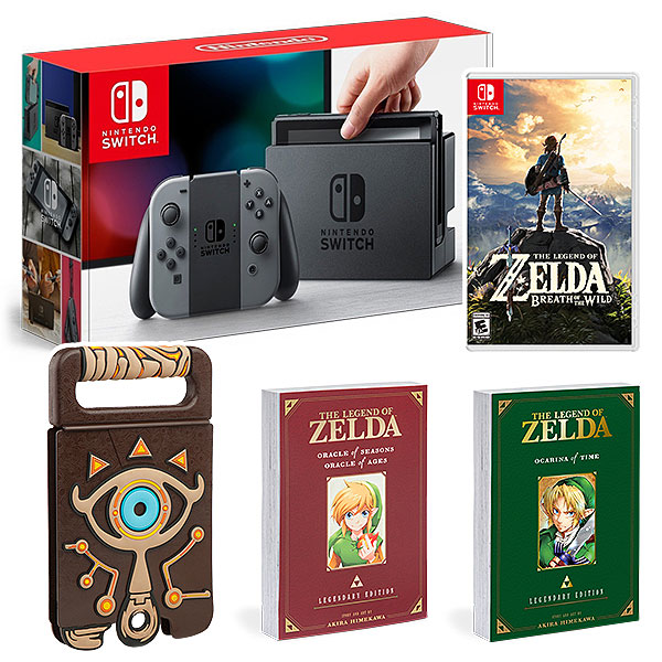 ThinkGeek Now Offers Nintendo Switch Bundles For Pre-Order