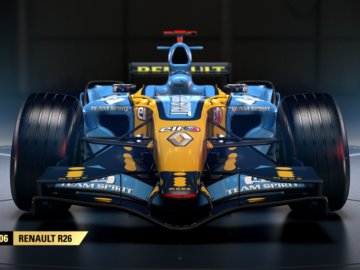 Fernando Alonso's Championship Winning 2006 Renault Features in F1 2017