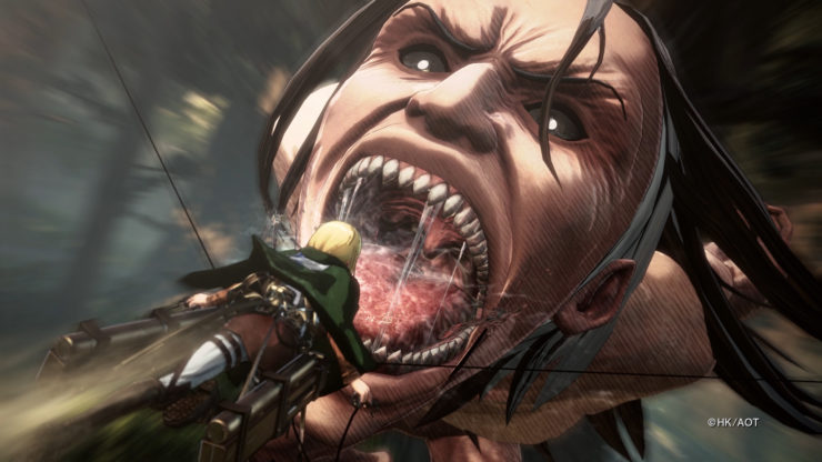 Platforms Announced For Attack On Titan 2