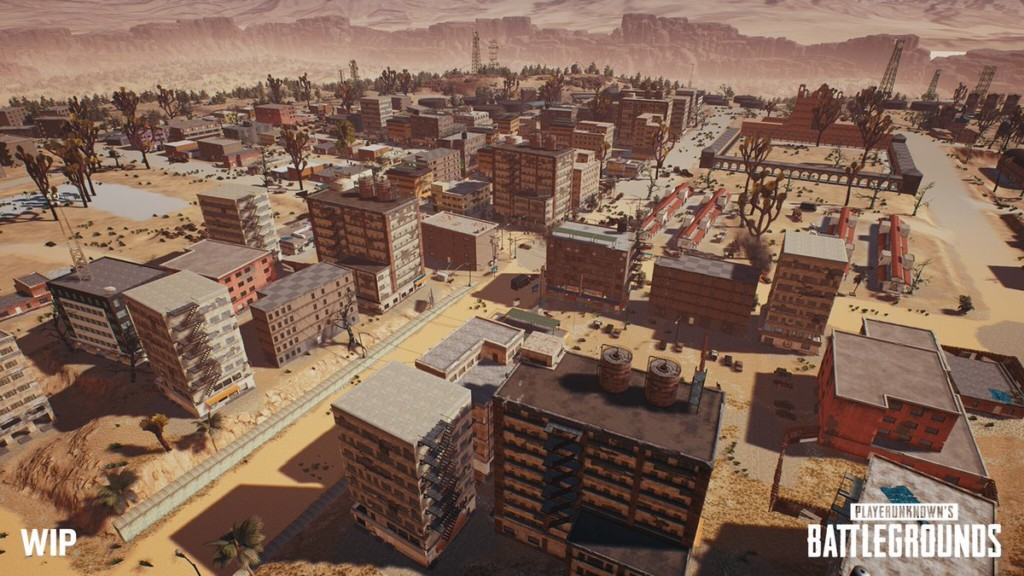 PLAYERUNKNOWN's Battlegrounds Gets A New Desert Map