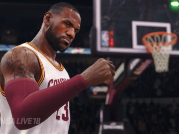 NBA Live 18 Update 1.05 Adds Pre-Game Lobby to The League, Tweaks Gameplay and Fixes and Updates Commentary